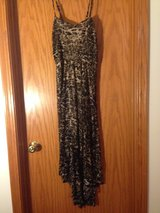 Hi/Low Animal Print Dress (medium/runs small) in Joliet, Illinois