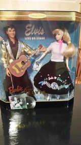 Barbie Loves Elvis Gift Set & TV Guide in Fort Campbell, Kentucky