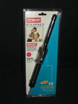 Conair Euro Curling Iron Dual Voltage Instant Heat NEW in Aurora, Illinois