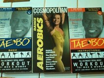 2 vhs taebo exercise tapes in Kingwood, Texas