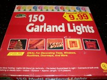 New 150 Christmas Avenue Stand Up Clear Garland Lights in Kingwood, Texas