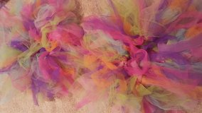 Handmade rainbow tutus in Shorewood, Illinois