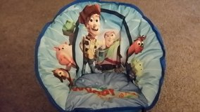 Kids round chair buzz and woody like new in Camp Lejeune, North Carolina