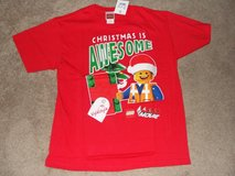 """CHRISTMAS IS AWESOME"" LEGO KIDS SHIRT SIZE L (10/12) NWT in Camp Lejeune, North Carolina"