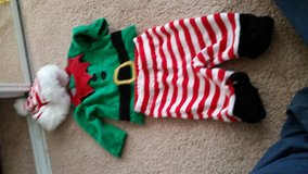elf Christmas outfit in Camp Pendleton, California