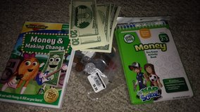 Learning Money, Leap Frog, DVD in Houston, Texas