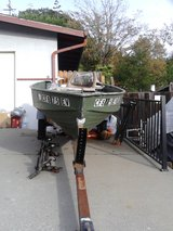 12 ft aluminum boat with trailer in Fairfield, California
