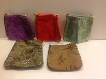DECORATIVE DRAWSTRING POUCHES ( 5 qty. ) in Batavia, Illinois