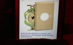 Suttle 4-Conductor Jack Assembly NIP in Conroe, Texas