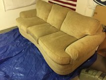 Couch with matching ottoman and oversized chair in Fort Rucker, Alabama