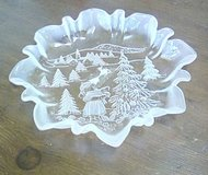 Festive Glass Dish in Ruidoso, New Mexico