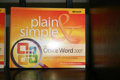 Plain & Simple Word & Outlook 2007 in Livingston, Texas