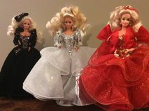 Holiday barbies in Bartlett, Illinois