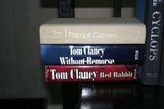 Tom Clancy Books, Hardback in Livingston, Texas
