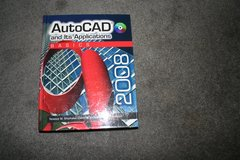 AutoCAD and Its Applications Basics 2008 Hardback in Livingston, Texas
