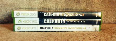 XBOX 360 Call of Duty games in Houston, Texas