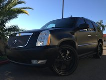 Cadillac Escalade Murdered Out in Fort Irwin, California