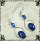 New - Blue Copper Turquoise and Blue Topaz Earrings in Alamogordo, New Mexico