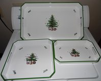 Nikko Christmastime Set 3 Hostess Trays in Conroe, Texas