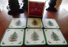 Pimpernel Coasters Spode Christmas Tree in Conroe, Texas