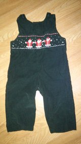 24 month Santa overalls in Kingwood, Texas