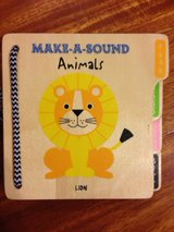 MAKE-A-SOUND Animals Wooden Book in Plainfield, Illinois