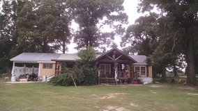 3 bedroom and 2 bath double wide with a metal roof build over it has carport n porches on front ... in DeRidder, Louisiana
