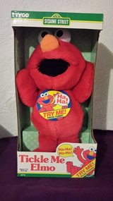1996 first tickle me elmo.. in Springfield, Missouri