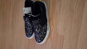 Justice sequin slip on shoes in Baytown, Texas