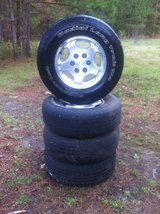 16 in chevy factory wheels ( tires hold air) in Fort Polk, Louisiana