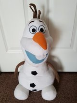 large & med size stuffed OLAF in Morris, Illinois