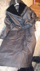 leather trench coat in Lake of the Ozarks, Missouri