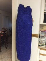 Scala Strapless And Beaded Evening Gown in Miramar, California