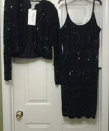 *NEW* Black Beaded Formal Dress & Jacket in Eglin AFB, Florida