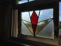 """Stain Glass Leaded """"Pair"""" of Window's in Camp Lejeune, North Carolina"""