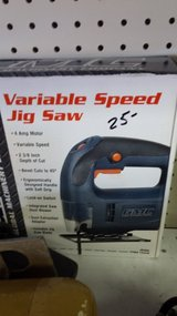 Jig Saw, variable speed in 29 Palms, California