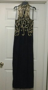 Stenay Gold & Black Beaded Formal Dress in Eglin AFB, Florida
