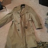 Men's Usmc all Weather uniform coat 44 regular in Camp Lejeune, North Carolina