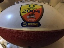 OregonBeaver collectible football in Ramstein, Germany