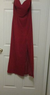 *NEW* Random Nights Red Velvet Formal Dress in Eglin AFB, Florida