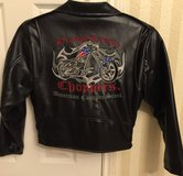 Orange County Chopper leather jacket(boys/7L) in Kingwood, Texas