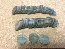 Silver War Nickels in 29 Palms, California