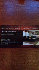House cleaning, Office cleaning.  Rivera's Janitorial. in Vacaville, California