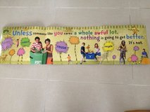 Dr. Seuss Lorax classroom banner -Laminated in Okinawa, Japan