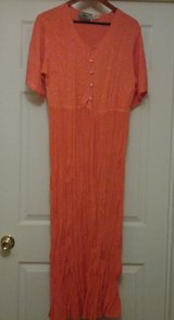 Orange Maxi Dress in Eglin AFB, Florida