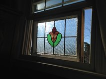 50% OFF Antique English Leaded Stain Glass Windows in Cherry Point, North Carolina