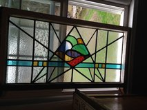 English Leaded Stain Glass Window in Camp Lejeune, North Carolina