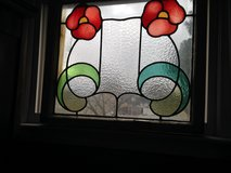 20% OFF ALL Large English Leaded Stain Glass Window many colors Bold Design in Cherry Point, North Carolina