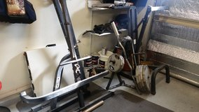 Olympic weight set in Alamogordo, New Mexico