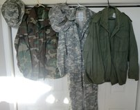 Military Clothes in Fort Leonard Wood, Missouri